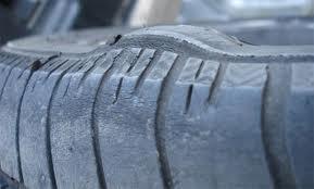 Bulging Tire