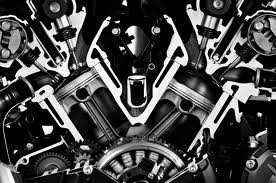 Internals of an Engine Cutaway