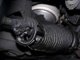ripped powersteering inner boot