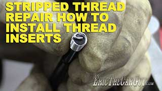 How To Install Thread Inserts