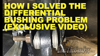 How I Fixed the Differential Bushings in the Fairmont Exclusive Video