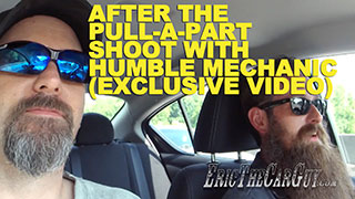 Pull a Part Shoot with HumbleMechanic