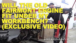 Fairmont Engine Under Workbench