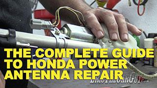 Honda Antenna Repair