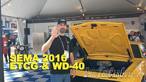 ETCG at the WD 40 Booth
