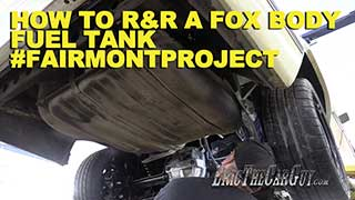 How To RR a Fox Body Fuel Tank