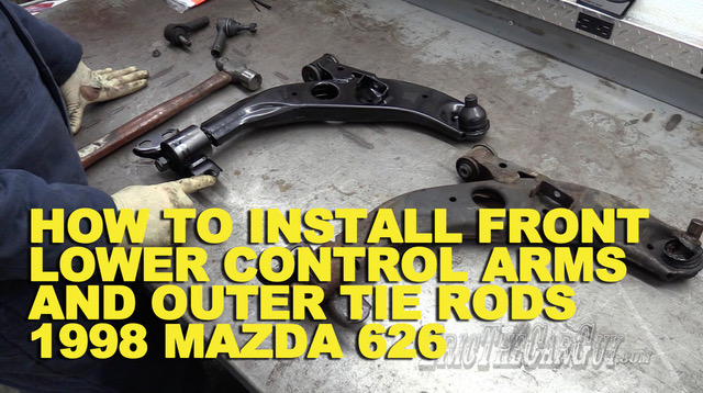 Lower Control Arm and Tie Rod Mazda 626