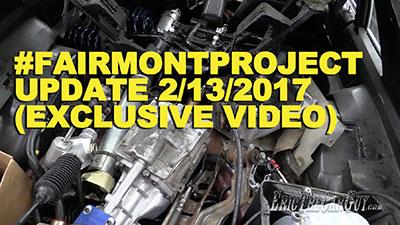 Fairmont Project Update 2 13 2017 Exclusive Video