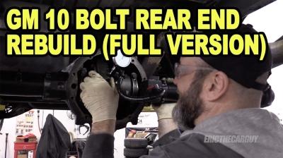 GM 10 Bolt Rear End Rebuild Full Version 400