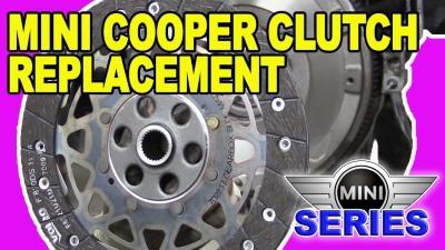 Mini Cooper R56 Clutch Replacement 400