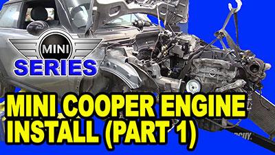 Mini Cooper Engine Install Part 1 400