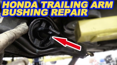 Honda Rear Control Arm Bushing Replacement 400