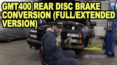 GMT400 Rear Disc Brake Conversion Full Extended Version 400