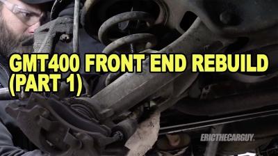 GMT400 Front End Rebuild Part 12 400