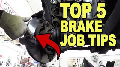 Top 5 Brake Job Tip.2s 400