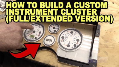 How To Build a Custom Instrument Cluster Full Extended Version 400
