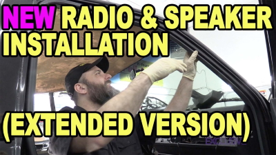 New Radio Speaker Intallation Extended Version 400